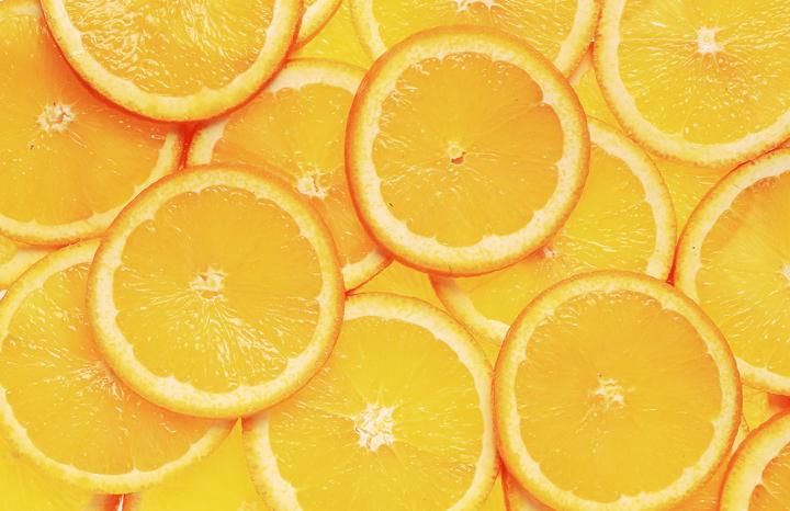 オレンジ ビタミンA